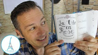 FRENCH QUOTES - La Vie En Rose   Learn French Culture