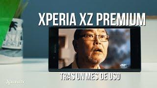 XZ Premium tras un mes de uso