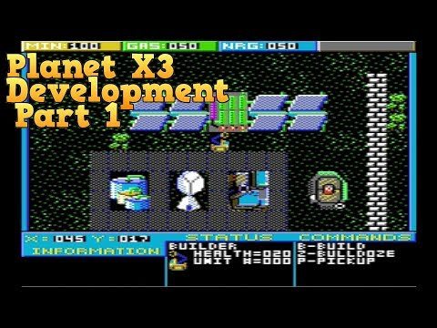 Planet X3 (2019 MS-DOS game)