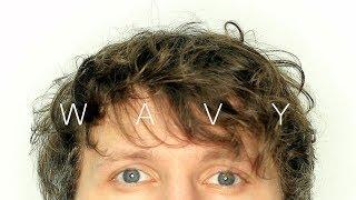 ✂️ Mens Medium Length Haircut For Wavy Hair