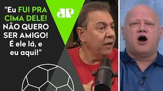Flavio Prado expõe treta com Ronaldo Giovanelli: 'Não gosto e não quero ser amigo'