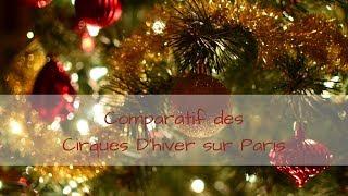 Comparatif des Cirques sur Paris