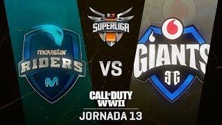 MOVISTAR RIDERS VS VODAFONE GIANTS | Superliga Orange COD | (Jornada 13)