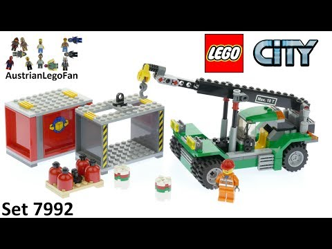 Vidéo LEGO City 7992 : Le transporteur de conteneurs