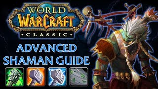 Classic WoW Advanced Shaman Guide 1 of 2 (Stats, Weapon Buffs, Coefficients, DpME/HpME, Totems)