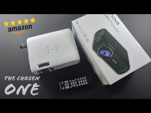 Best Amazon Mini LED Projector - XPE460 CRENOVA