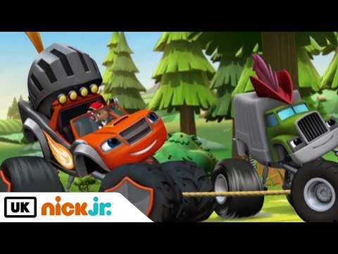 Blaze and the Monster Machines | Sing Along: Pully Song | Nick Jr. UK