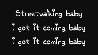 Michael Jackson - Streetwalker. (Lyrics).