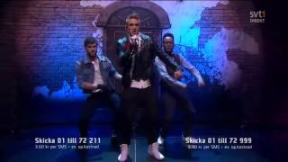 Danny Saucedo - In The Club (Melodifestivalen 2011 Final)