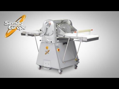 Video Laminoir sur socle 520x1960mm SINMAG