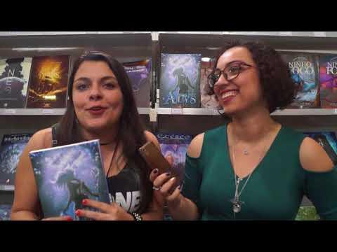 Entrevistamos a Priscila Gonçalves, autora de Alys - Elemento Alpha, na Bienal do Livro 2017
