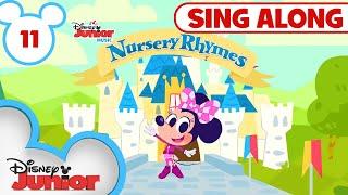 Sing Along Nursery Rhymes Part 11 🎀 |🎶Disney Junior Music Nursery Rhymes | Disney Junior
