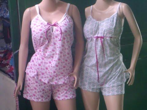 como hacer una pijama para dama