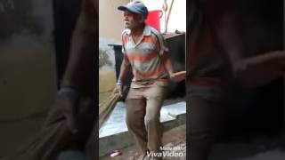 Old man dance hindi song funny clips