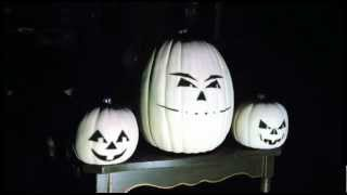 """Nightmare Before Christmas """"This Is Halloween"""" (Animation: Black Faces With White Background)"""