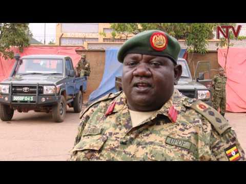 Ab'e Matugga beekokkodde UPDF, bagamba amagye gabatulugunya