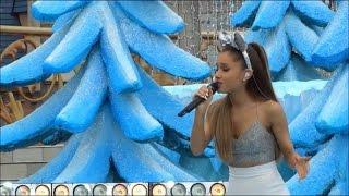 "Ariana Grande ""Last Christmas"" 2014 Walt Disney World Frozen Christmas Day Parade"
