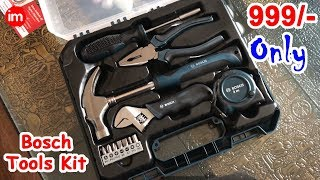 Bosch Hand Tool Kit Review Hindi | By Ishan - Download this Video in MP3, M4A, WEBM, MP4, 3GP