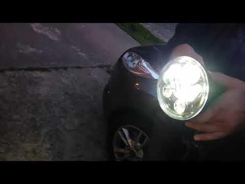 China LED Scheinwerfer für Moped / Motorrad Test 2