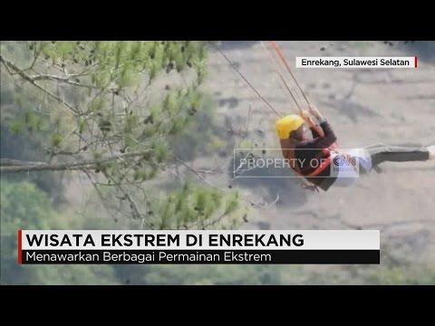 Video Wisata Ekstrem di Enrekang