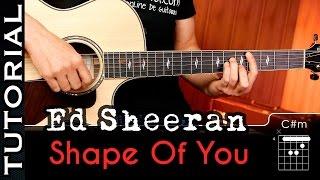 Cómo Tocar Shape Of You En Guitarra COMPLETO  | Guitarraviva
