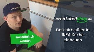 Ikea Geschirrspüler passt nicht - Erklärung zum Umbau bei vollintegrierten Geschirrspülern