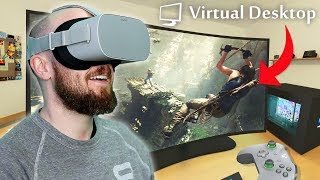Virtual Desktop Oculus Go! Remotely Access Your PC In Virtual Reality
