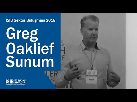 İSİB Sektör Buluşması 2018 – Greg Oaklief Sunum