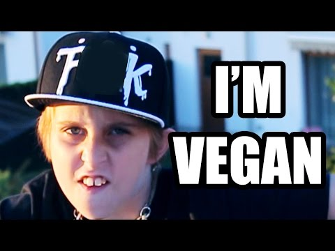 I'M VEGAN!!! DIE, MEAT-EATERS!!! SONG by MISHA (FOR KIDS)