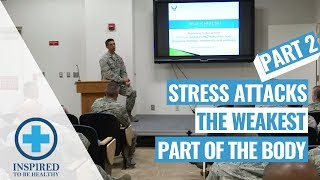 Stressed Out America! Stress Attacks the Weakest Part of the Body: (Part 2 of 2)