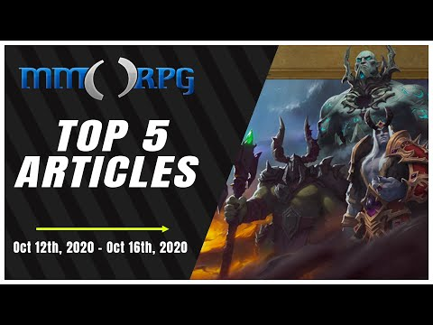 Avengers Crashes and World of Warcraft Patches | Top 5 Articles This Week - October 12th-16th