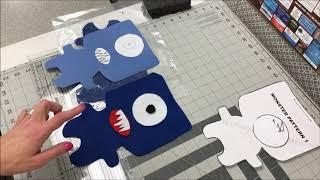 Felt Monster Service Project