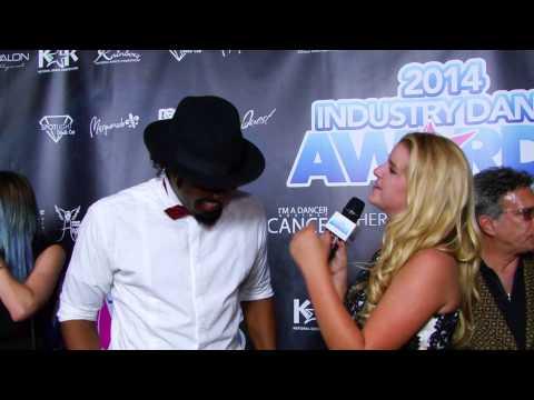 SYTYCD Choreographer Dave Scott on 2014 Industry Dance Awards red carpet