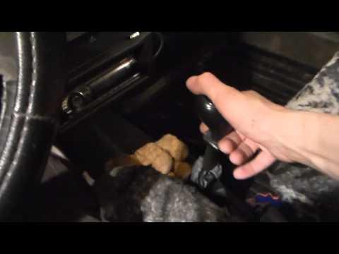 Замена и ремонт тяги кулисы коробки передач № 31