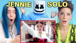 Celebrities React To Jennie   'SOLO'