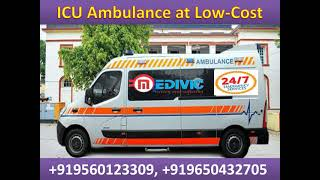 Medivic Ambulance Service in Ranchi Top-Class ICU Support
