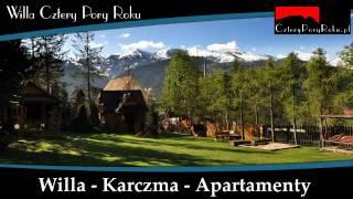 preview picture of video 'Willa Cztery Pory Roku - Zakopane - Kościelisko'