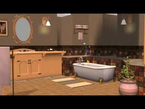 The Sims 2 Кухня и Ванная Дизайн интерьера (Каталог)