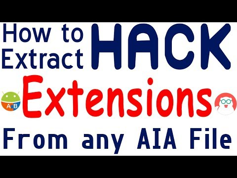 Download How To Hack Extensions Extract Extensions From Aia Aix From