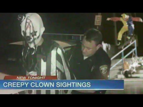 Alec Majerus - Creepy Clown Sighting