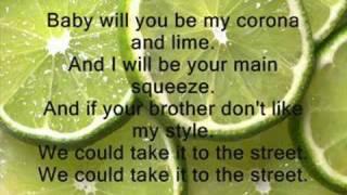 Shwayze-Corona And Lime // Lyrics