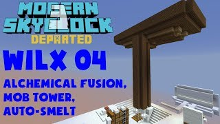 Enigmatica 2 Expert Skyblock EP3 Combustion Automation +