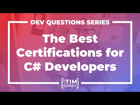What Certifications Are Best For C# Developers?