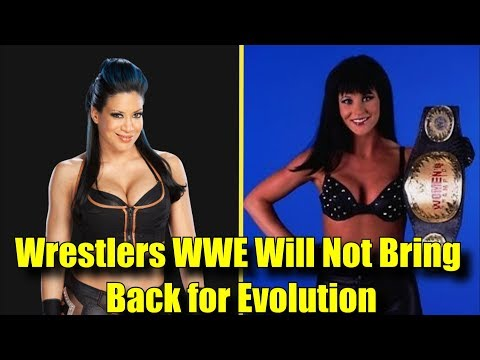 10 Wrestlers WWE WILL NOT BRING BACK for WWE Evolution! - Melina, Stacy Carter & More!