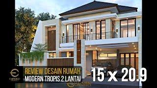 Video Desain Rumah Modern 2 Lantai Bapak Akhmad Fahmi di  Bekasi, Jawa Barat