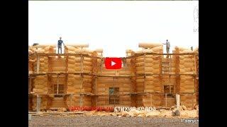 Рубка Терема из кедра большого диаметра 500 м2 | Эксклюзивные кедровые дома | izkedradom.ru