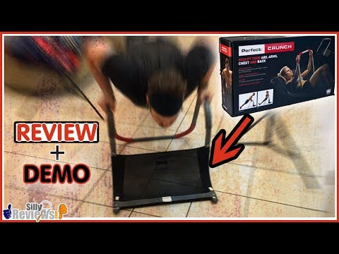 Perfect Fitness Perfect Crunch Review and Demonstration