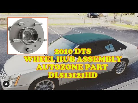 2010 Cadillac DTS Wheel Hub Assembly
