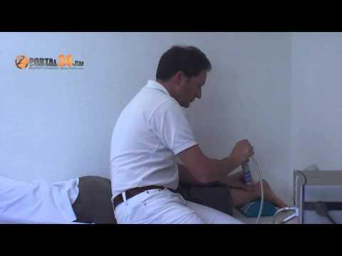 Ob in Osteochondrose krank Muskel in seinem Bein