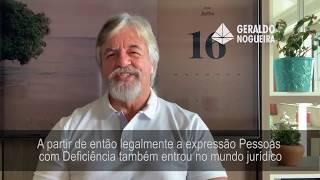 Geraldo Nogueira falando sobre os conceitos da deficiência, sobre o prisma da Convenção dos Direitos